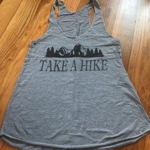 """Take a Hike"" Graphic Tank"